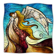 In The Arms of The Angel Microfiber Fleece Throw Blanket