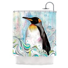 King Shower Polyester Shower Curtain