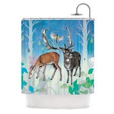 Glade Polyester Shower Curtain