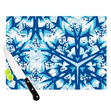 Winter Mountains Cutting Board