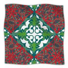Lace Flakes Microfiber Fleece Throw Blanket