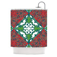 Lace Flakes Polyester Shower Curtain