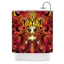 She Devil Polyester Shower Curtain
