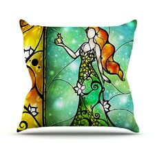 Fairy Tale Frog Prince Throw Pillow