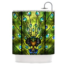 Angel Eyes Polyester Shower Curtain