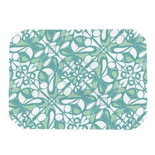 Swirling Tiles Teal Placemat