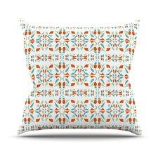 Italian Kitchen Orange Throw Pillow