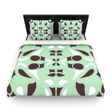 Swirling Teal Duvet Cover Collection