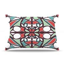 Brown Round Tiles Pillow Case