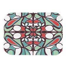 Brown Round Tiles Placemat