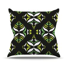 Retro Train Throw Pillow
