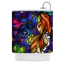 Tell Me Stories Polyester Shower Curtain