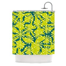 Festive Splash Polyester Shower Curtain