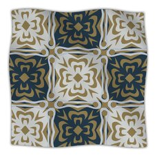 Contemporary Granny Microfiber Fleece Throw Blanket