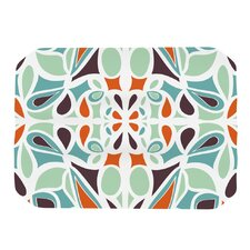 Stained Glass Orange Purple Placemat