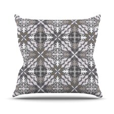 Let In Snow Throw Pillow