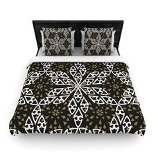 Ethnical Snowflakes Duvet Cover