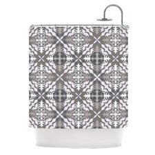 Let In Snow Polyester Shower Curtain