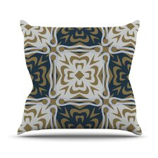 Contemporary Granny Throw Pillow