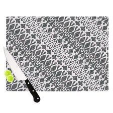 Silver Lace Cutting Board