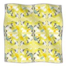 Spring Flourish Microfiber Fleece Throw Blanket