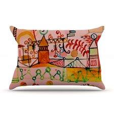 Happy Town Pillow Case