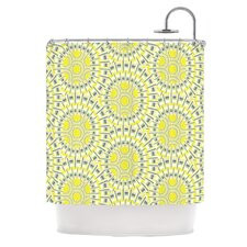 Sprouting Cells Polyester Shower Curtain