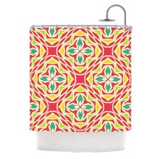 Christmas Carnival Polyester Shower Curtain