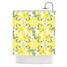 Spring Flourish Polyester Shower Curtain