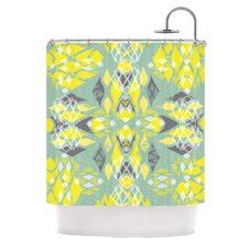 Joyful Polyester Shower Curtain