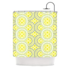 Blossoming Buds Polyester Shower Curtain