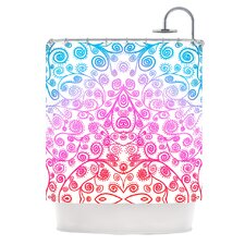 Safe and Sound Polyester Shower Curtain