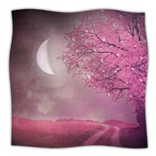 Song of The Springbird Microfiber Fleece Throw Blanket