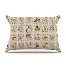Birdies Pillow Case