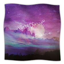 Everything at Once Microfiber Fleece Throw Blanket