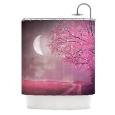 Song of The Springbird Polyester Shower Curtain