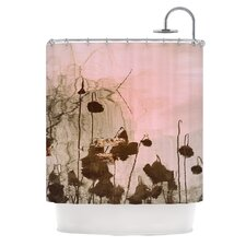 Lotus Dream Polyester Shower Curtain