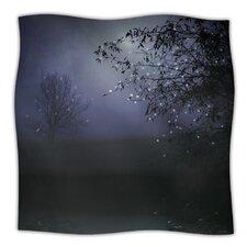 Song of The Nightbird Microfiber Fleece Throw Blanket