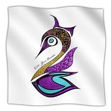 Dreams Swan Microfiber Fleece Throw Blanket