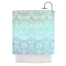 Clouds In The Sky Polyester Shower Curtain