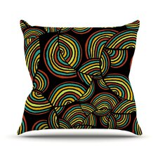 Infinite Depth Throw Pillow
