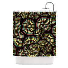 Infinite Depth Polyester Shower Curtain