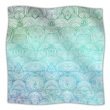 Clouds In The Sky Microfiber Fleece Throw Blanket