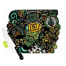 Multicolor Life Cutting Board