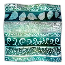 Dreamy Tribal Microfiber Fleece Throw Blanket