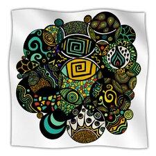 Multicolor Life Microfiber Fleece Throw Blanket