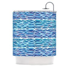 The High Sea Polyester Shower Curtain
