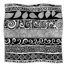 Tribal Evolution Microfiber Fleece Throw Blanket