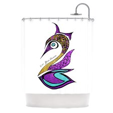 Dreams Swan Polyester Shower Curtain