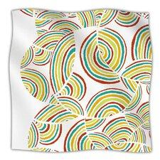 Rainbow Sky Microfiber Fleece Throw Blanket
